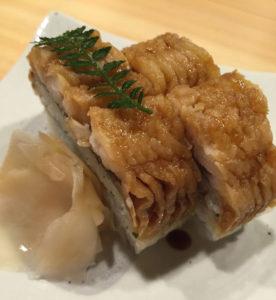 京都 おうち割烹 あや富 ハモ寿司