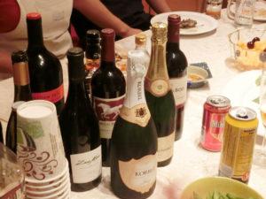ホームパーティ ワイン