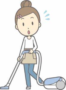 掃除機を選ぶ