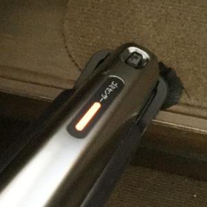 コードレス掃除機freedゴミセンサー