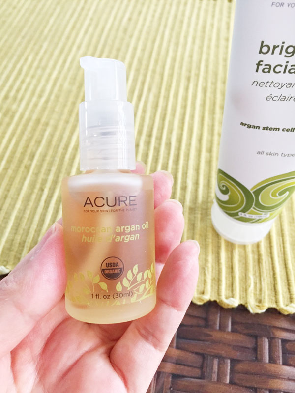 Acure Organics アルガンオイル