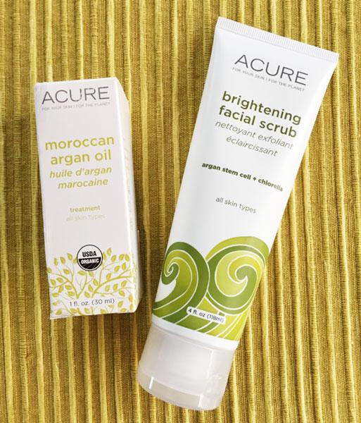 Acure Organics スクラブ&アルガンオイル