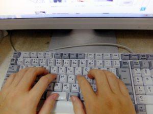 パソコン仕事